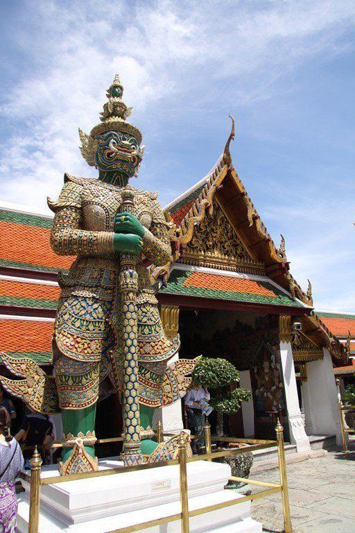 Thailand. Royal Palace in Bangkok