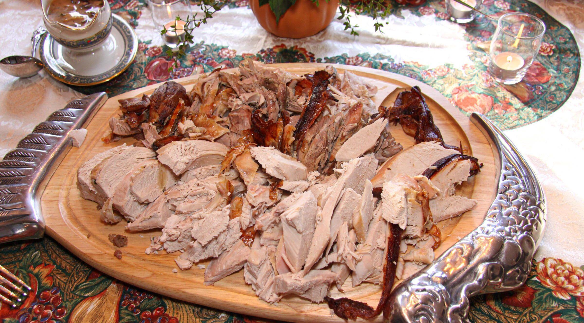 chestnut stuffed turkey