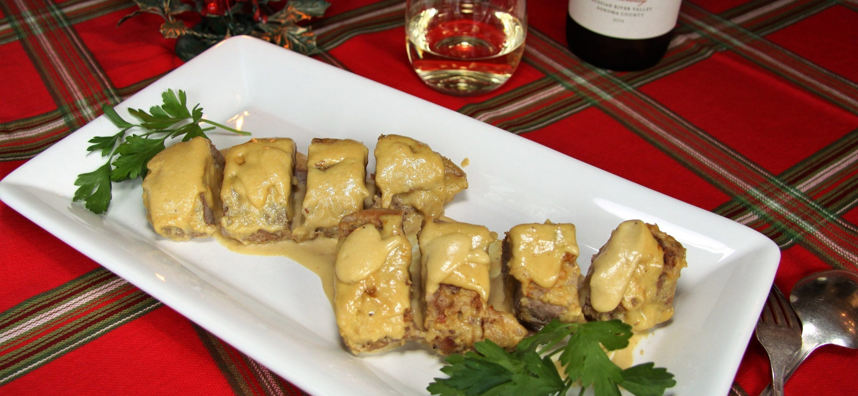 Pork tenderloin with Cream and Mustard