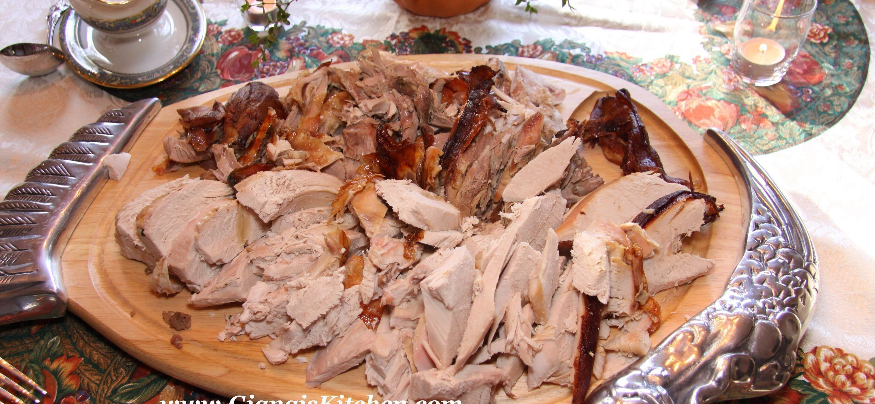 Chestnut Stuffed Turkey