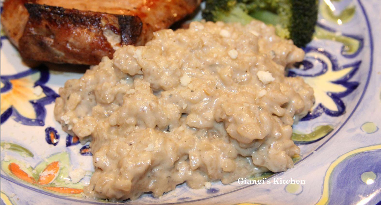 gorgonzola risotto