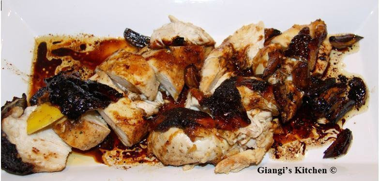 honey roasted chicken with lemon and honey