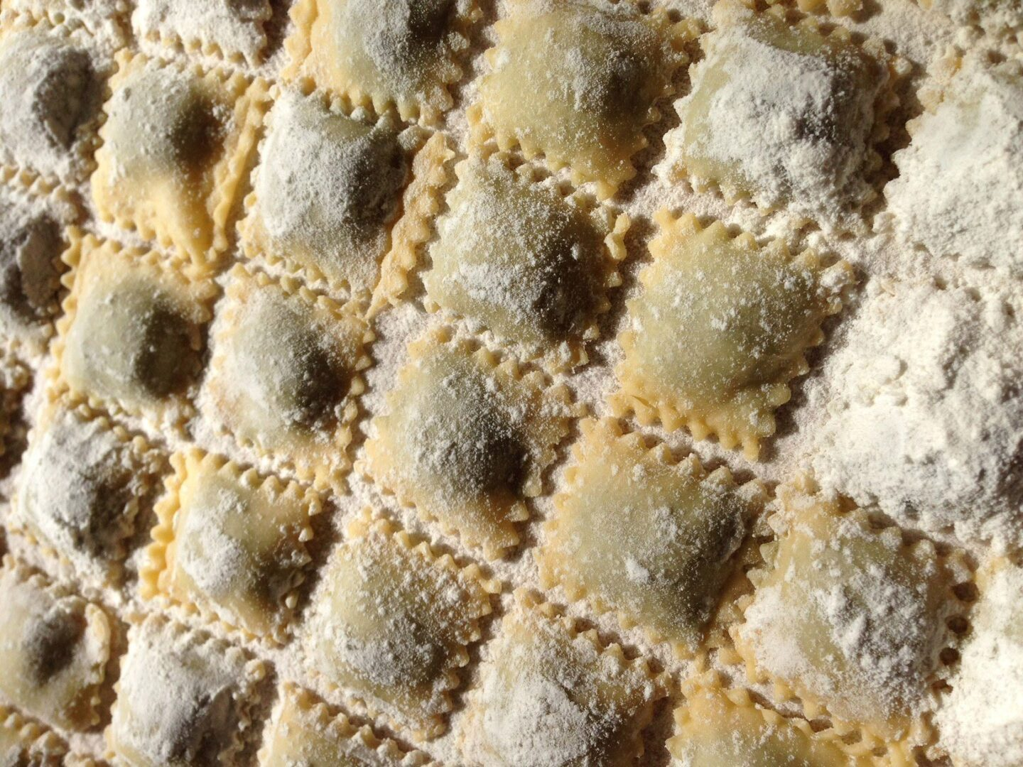 ravioli made from scracth