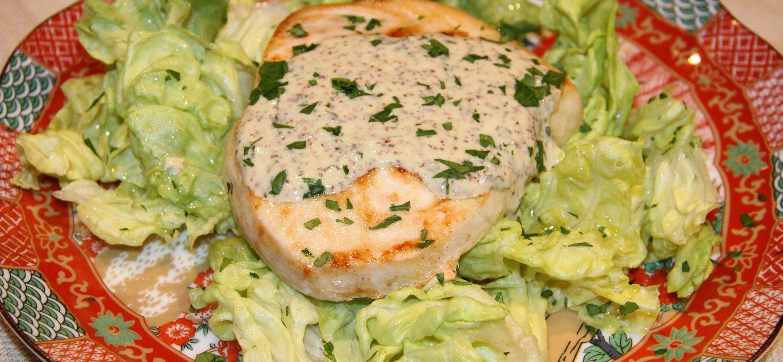swordfish moutarde