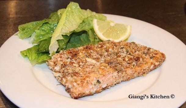 panko salmon