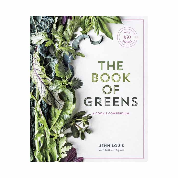 The Book of Greens: A Cook's Compendium.  From one of Portland, Oregon's most acclaimed chefs comes an encyclopedic reference to the world of greens, featuring more than 150 creative recipes for every meal of the day.
