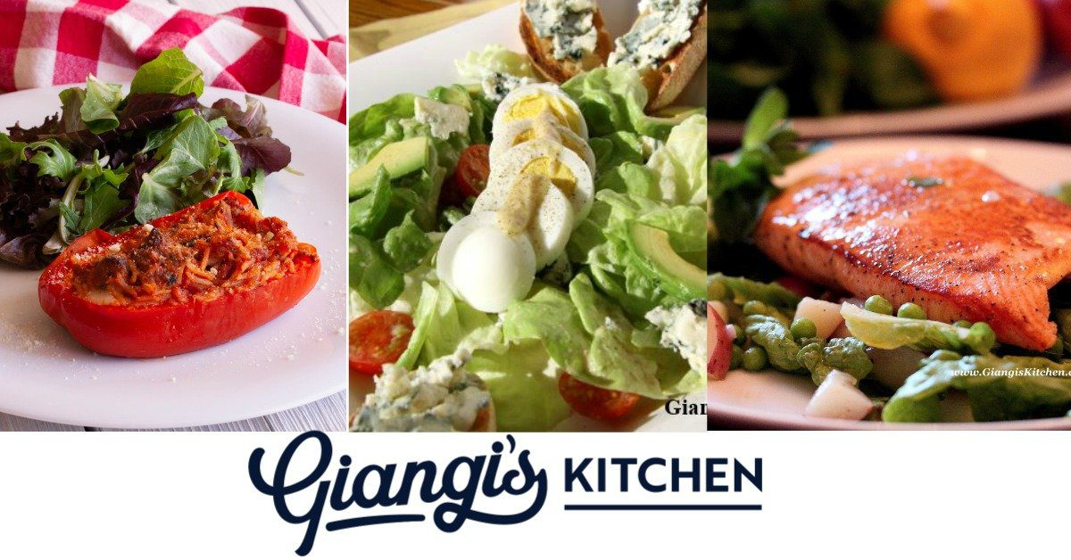 Giangi's Kitchen weekly menu