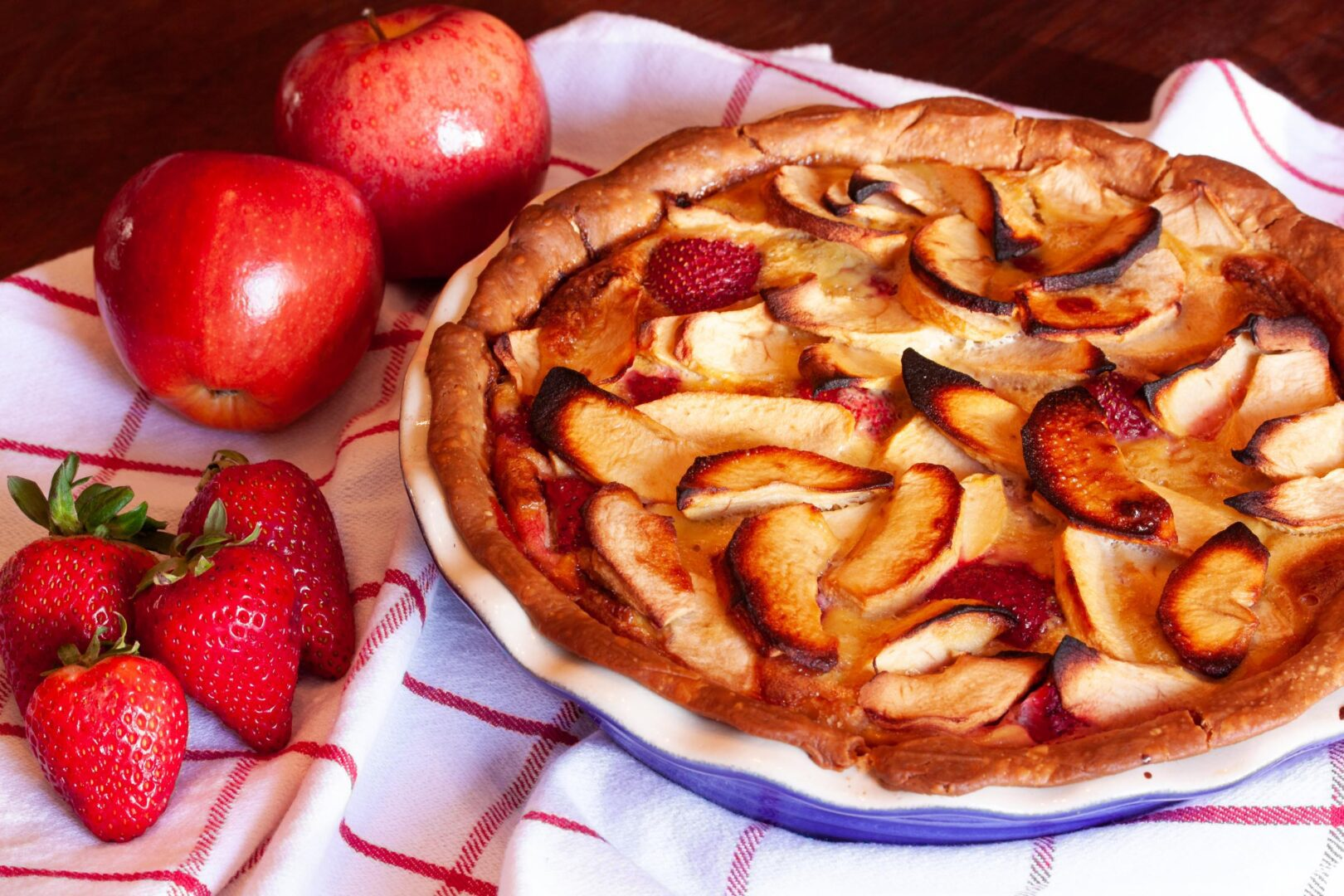 Strawberry Apple Pie Giangi S Kitchen
