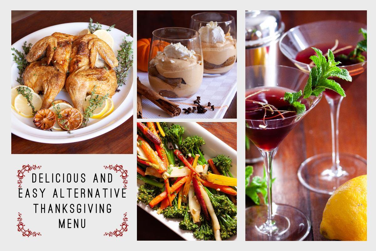 Delicious and Easy Alternative Thanksgiving Menu