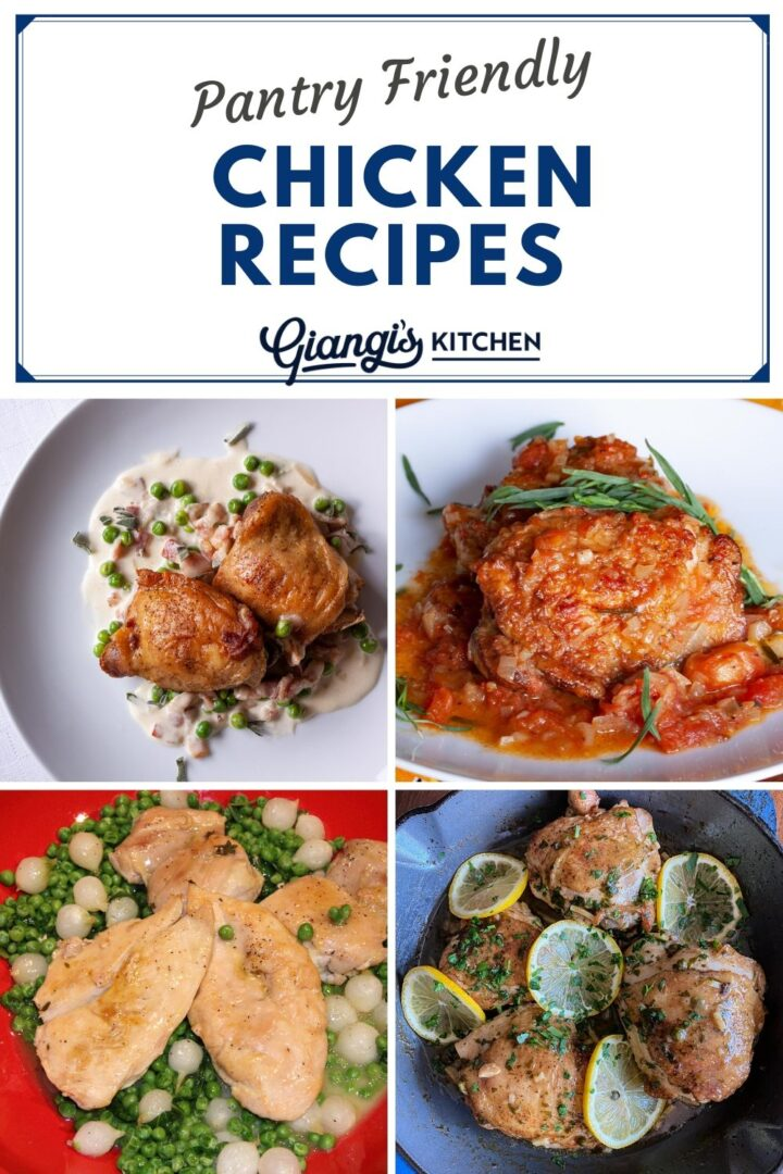 Pantry Friendly Chicken Recipes