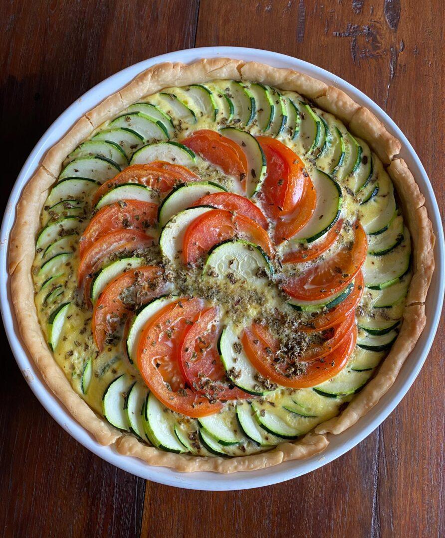 zucchini tomatoes gratin