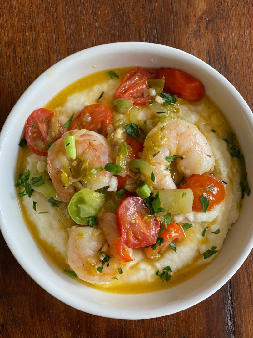 Shrimps and grits