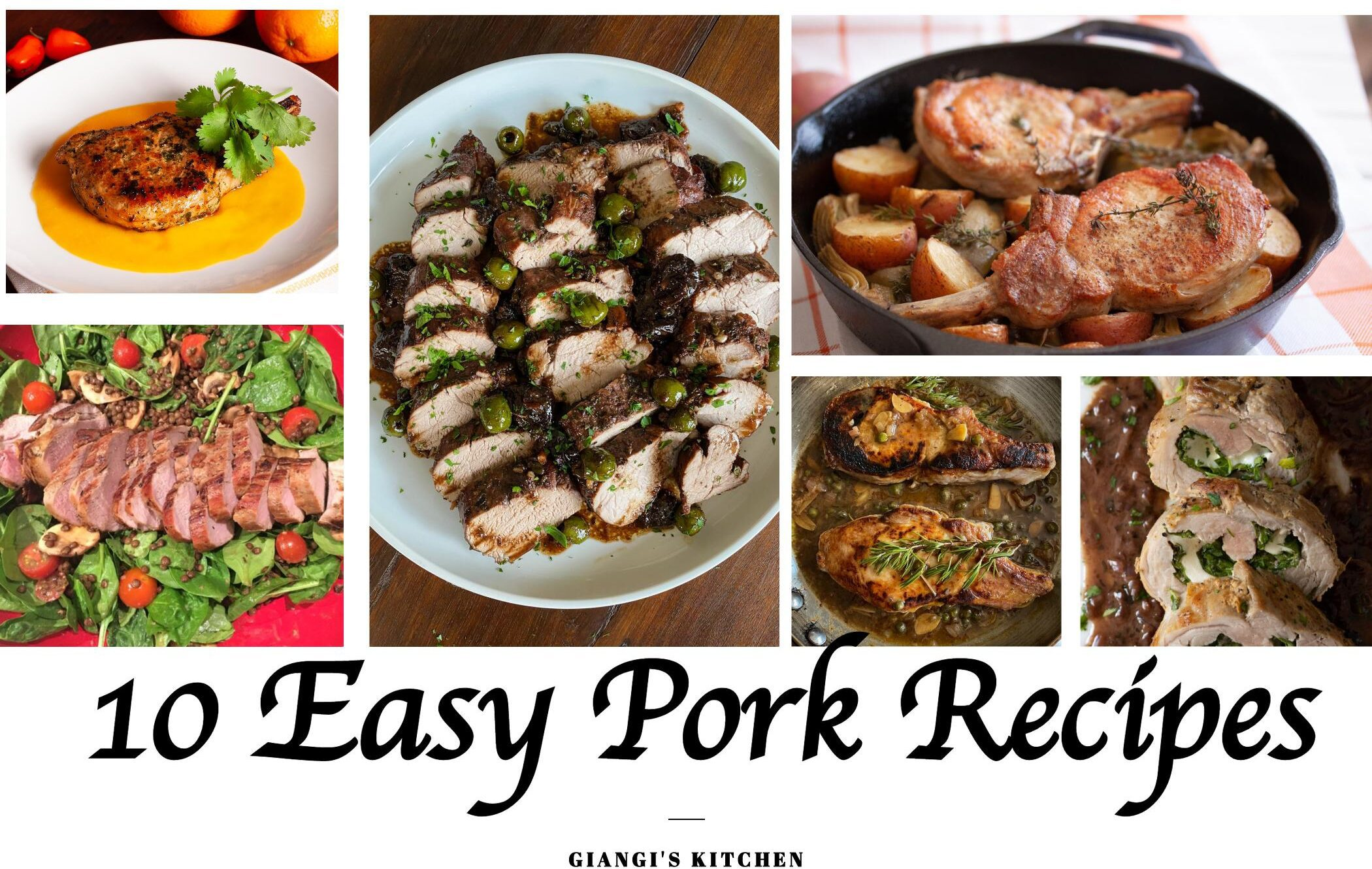 10 easy pork recipes