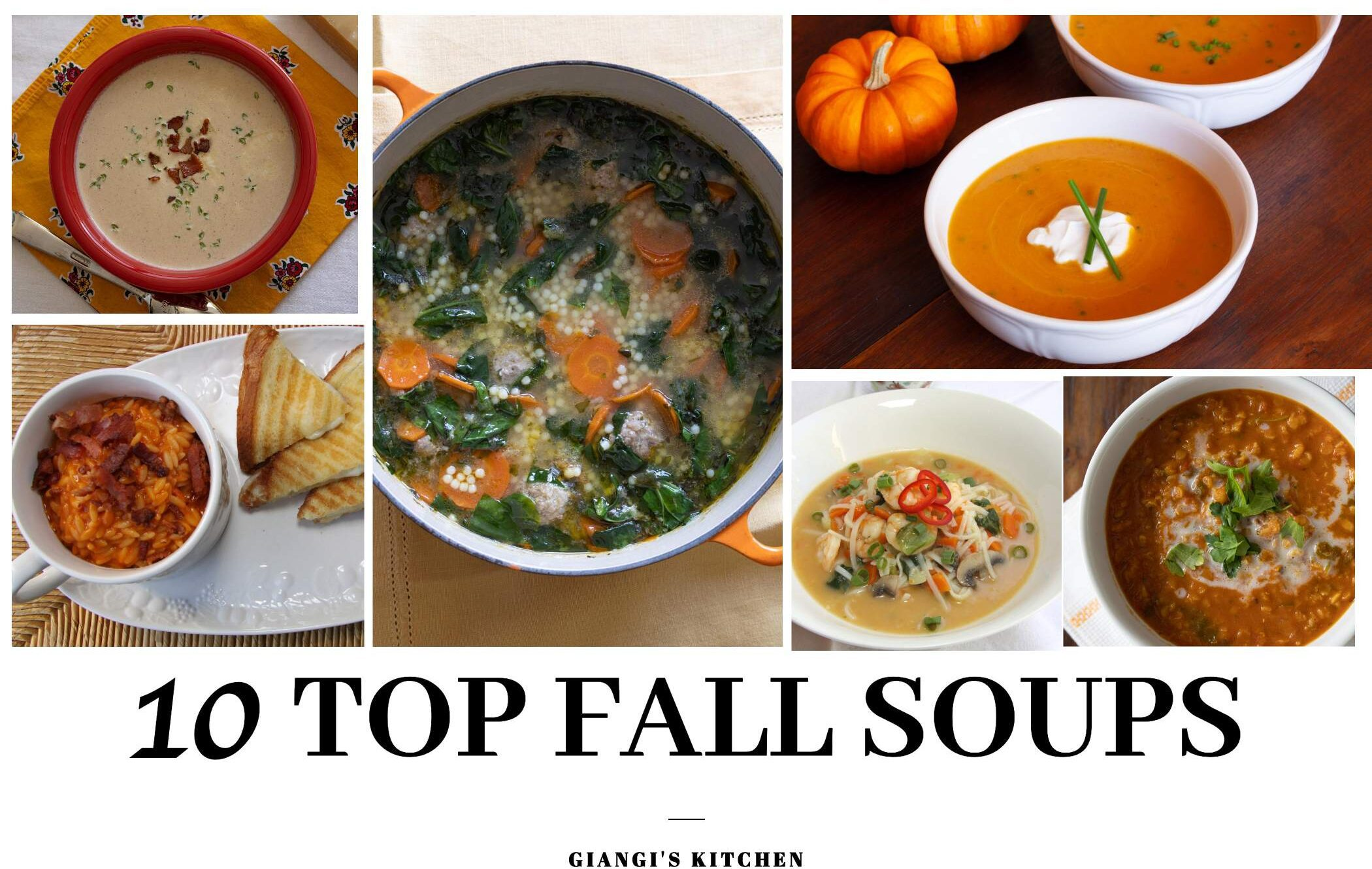 10 top fall soup recipes