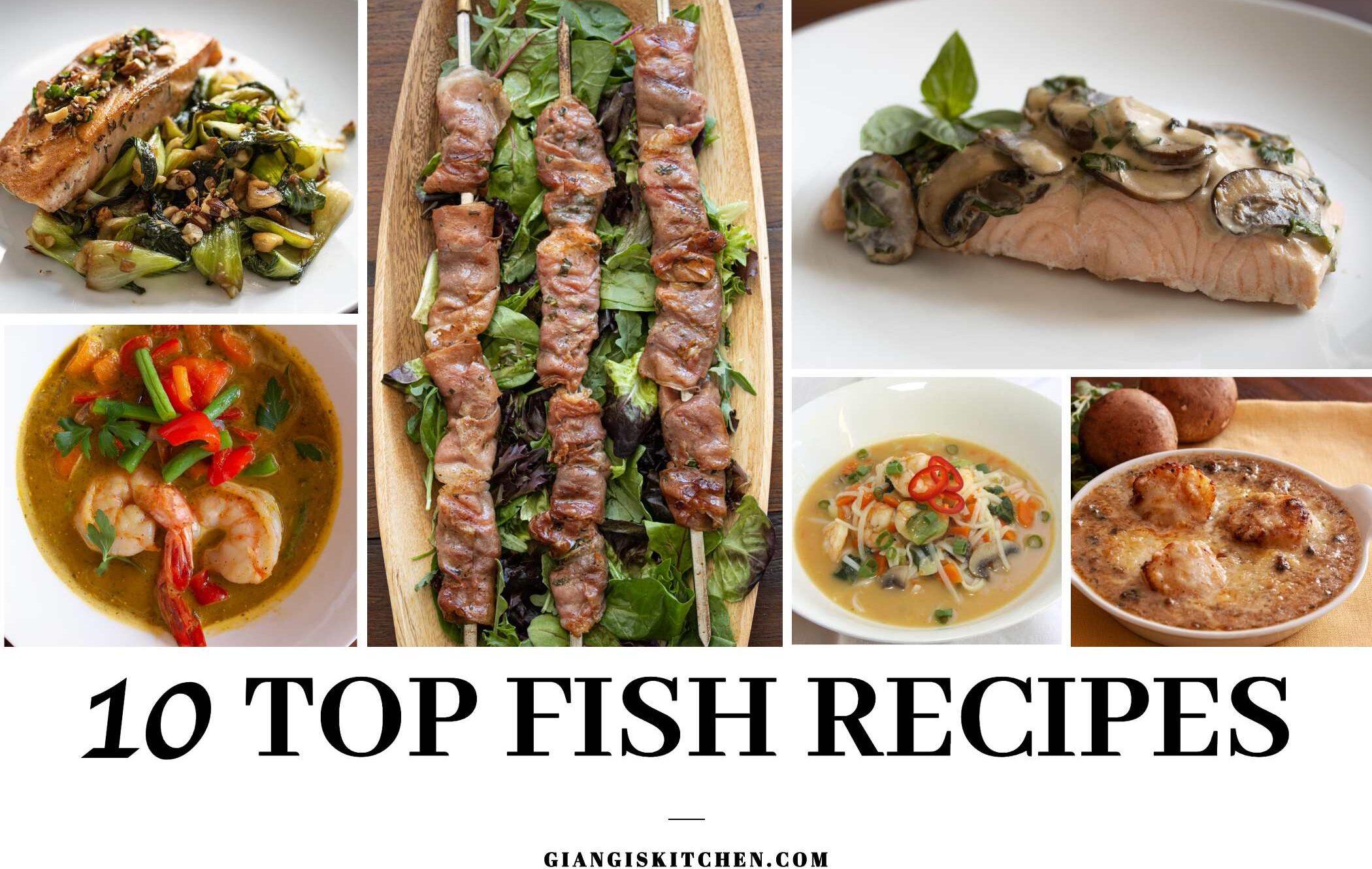 top 10 fish recipes