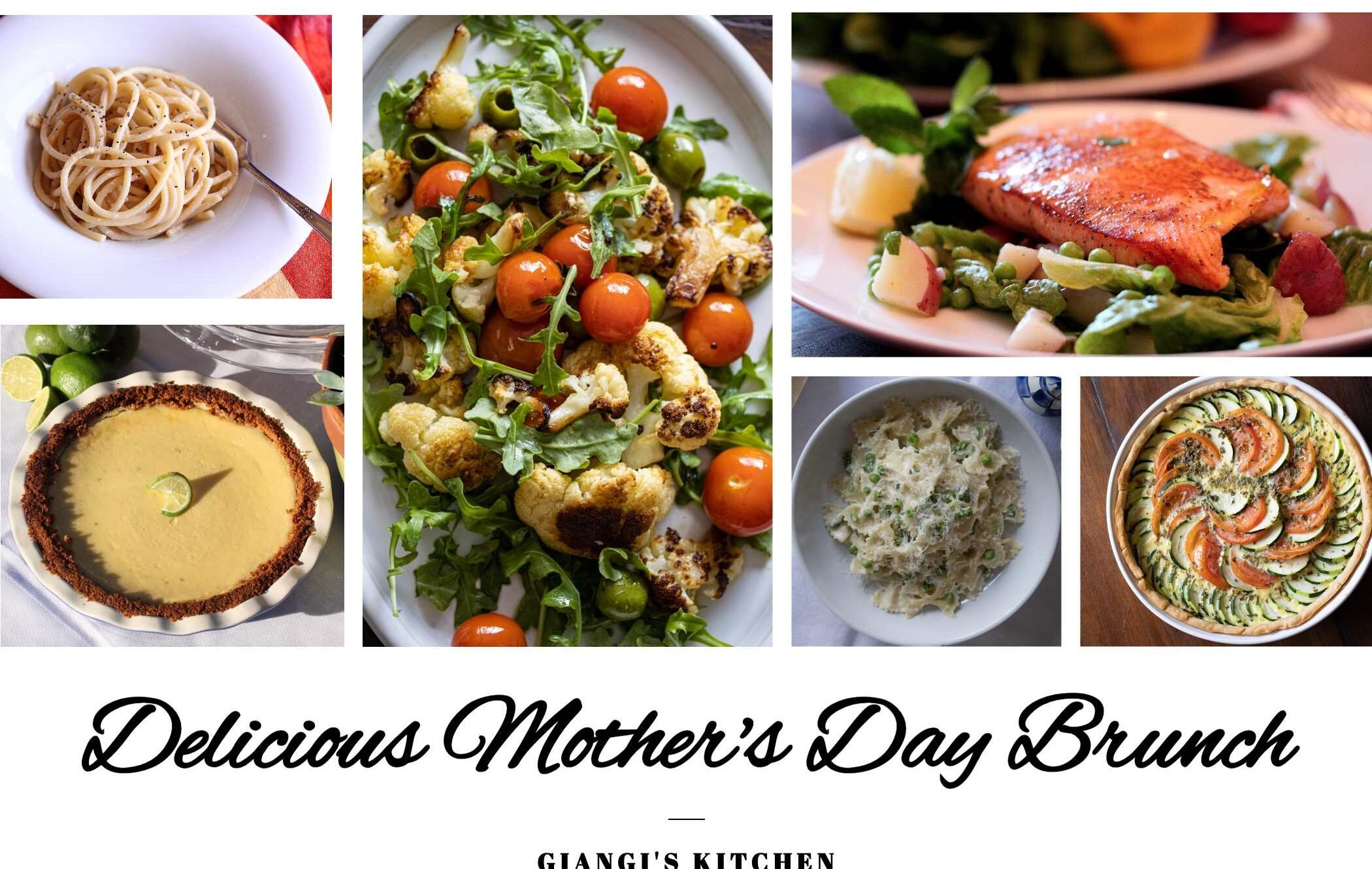 delicious mother's day brunch